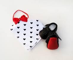 gift set little boutin little red bottom moccasins u0026 love of