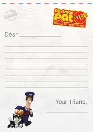 write letter gran postman pat letter template