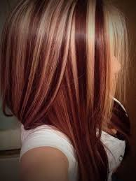 Red Hair Color With Highlights Pictures Light Red Hair With Blonde Highlights Red Hair Golden Highlights