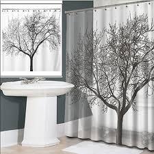 Waterproof Fabric Shower Curtains Waterproof Fabric Shower Curtain Tree Design U2013 25 Main Street