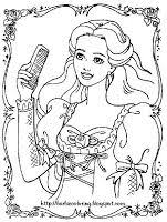 barbie coloring pages activity sheets free colouring pages