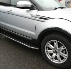 Range Rover Evoque Prestige And Pure U0027raptor U0027 Side Steps Direct 4x4