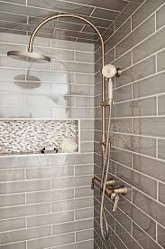 bathroom tile designs photos gray walk in shower boasts ceiling and walls clad in gray tiles