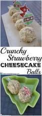 crunchy strawberry cheesecake balls life is sweeter by design