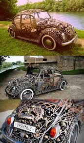 gold volkswagen beetle neo victorian steampunk steampunk volkswagen beetle carsteampunk