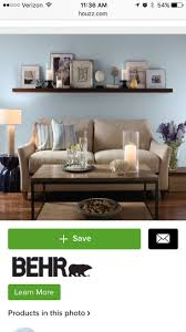 Wall Decor Above Couch by 24 Best Living Room Images On Pinterest Candle Sconces