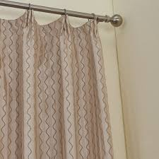 Curtains One Panel Or Two Twopages Zoomtist Collection Premium Gentle Wavy Lines Lined