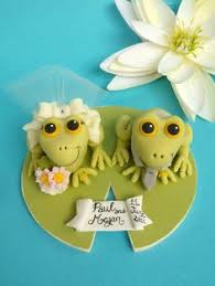 frog wedding cake toppers on etsy 30 00 for our wedding