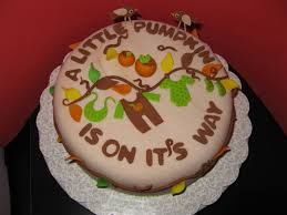 little pumpkin baby shower cake cakecentral com