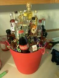 liquor baskets cocktail gift basket pinteres