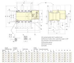 transfer switch no logic atys r 3p 630a nhp customer portal