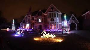 Christmas Lights House by Best Christmas Lights Chicago Park Ridge Youtube