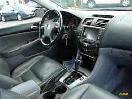 honda accord 2003 black black interior 2003 honda accord ex l sedan photo 70602708