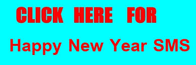 happy new year sms in