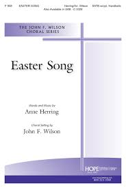 easter choral easter song publishing company