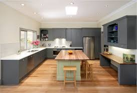 Marble Floors Kitchen Design Ideas U Shaped Kitchen With Island Floor Plans Cabinet Light