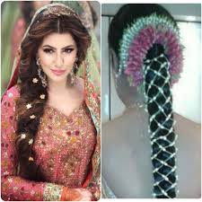 bridal hairstyle for marriage for indian wedding party