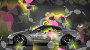 phantom car 2015 nissan gtr r35 lb works side super abstract phantom effects car