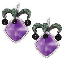 amethyst earrings avakian joker amethyst earrings avakian the jewellery editor
