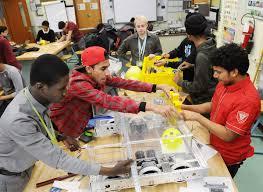 revved up for robotics united federation of teachers
