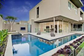 small lap pools pool small lap white house accommodating an l shaped alfresco in