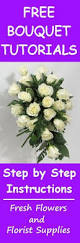 How To Make A Bridal Bouquet How To Make A Bridal Cascading Bouquet With Fake Flowers Wedding