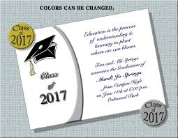 how to make graduation invitations graduation invitation 2017 dhavalthakur