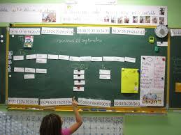 Les CP écrivent des phrases dans leur cahier décrivain