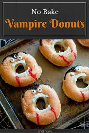 it u0027s time for hilarious no bake vampire doughnuts to rise yet again