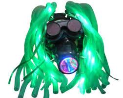 Halloween Costume Gas Mask Dj Masks Etsy