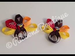thanksgiving hair bows how to make a thanksgiving turkey hair clip
