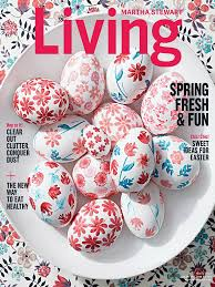 martha stewart living magazine april 2017 edition texture