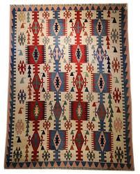 Turkish Home Decor 9x12 Vintage Kilim Area Rug Turkish Kilim Rug Flat Weave