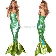 Princess Ariel Halloween Costume Cheap Mermaid Princess Ariel Dress Cosplay