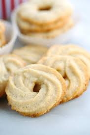 vanilla ring butter cookies recipe best cookie recipes