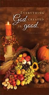 thanksgiving offering envelope everything god created is