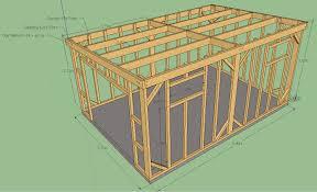 Abris De Jardin Cerisier by Plan Pour Construire Une Maisonnette En Bois Plan Du0027une