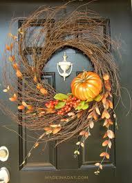 Fall Wreaths 25 Festive Diy Fall Wreaths A Hundred Affections
