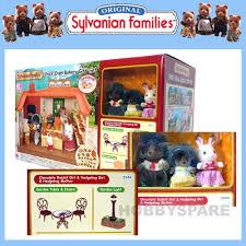 Sylvanian Families Garden - sylvanian families brick oven bakery gift set 3x figures garden