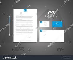 typographic m symbol elegant minimal style stock vector 227312026