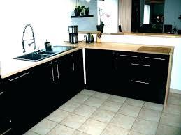 cuisine noir laqué plan de travail bois cuisine laquee cuisine noir laque plan de travail bois cuisine