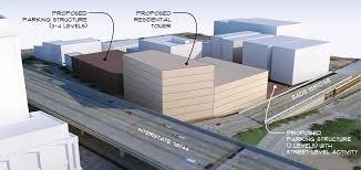 drury lawrence group eye residential development parking garages render lacledeslanding