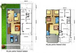 Double Storey House Floor Plans Stylish Wonderful Double Storey House Designs Plan And Design