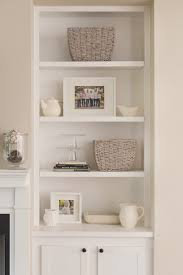 White Sling Bookcase by Beautiful Built In Bookcase Decorating Ideas 33 About Remodel Blue
