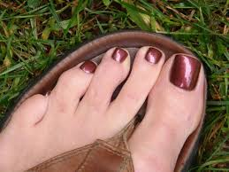 buy cool burgundy red with shimmer nail polish color for men online