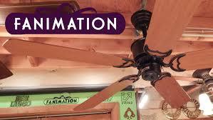 fanimation caruso ceiling fan fanimation islander ceiling fan casablanca blades youtube