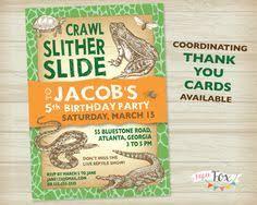 reptile birthday invitation reptiles birthday invite reptiles