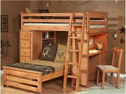 Bunk Beds Liverpool Trendwood Laguna Loft Style Bunk Bed With Chest And Desk Ends