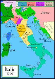 Modena Italy Map by Baiocchi Conversion Table In Thousandths