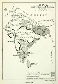 British India Map by Marathamaps